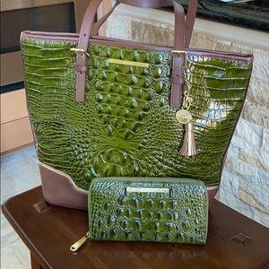 Brahmin Shoulder handbag and wallet
